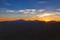 Last sun rays Stock Photos
