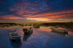 Last sunrise with nice cloud the new Taipei, Stock Photo