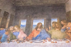 Last Supper close up Royalty Free Stock Photos