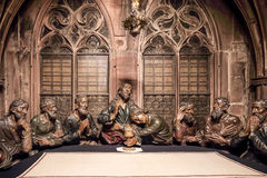 Last Supper Group Royalty Free Stock Photo