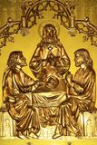 The last supper that Jesus celebrated for his dying day Royalty Free Stock Photo