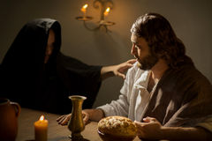 The Last Supper of Jesus Christ Royalty Free Stock Photography