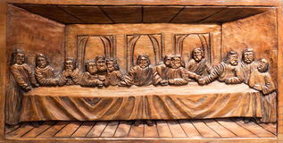 Last supper of Jesus royalty free stock image