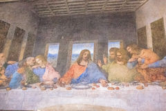 Last Supper panorama Stock Photos