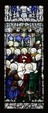 The Last Supper Stained Glass Royalty Free Stock Photo