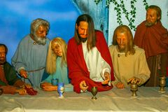 The Last Supper royalty free stock images