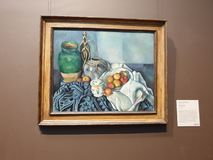The Getty Center-Still Life with Apples stock images