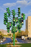 The last traffic signal in Eilat, Israel Stock Images
