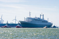 Last voyage of SS Rotterdam Royalty Free Stock Image