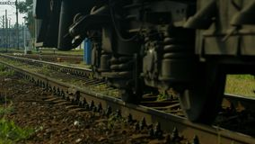 Last wagon. stock footage