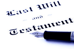 Free Last Will And Testament Stock Photos - 13985983