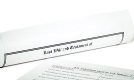 Last Will and Health Care Directive Royalty Free Stock Images
