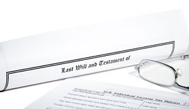 Last Will and Health Care Directive Royalty Free Stock Photography