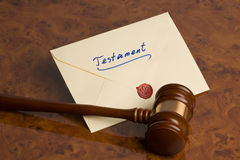 Last Will - Testament Stock Images