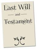 Last will testament Stock Photo