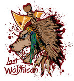 Last wolfhican Stock Photo