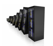 Last working server Royalty Free Stock Images
