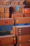 lastbehållare Arkivbild