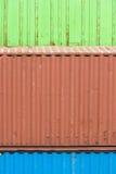 Lastbehållare Arkivfoton