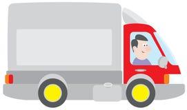 lastbil stock illustrationer