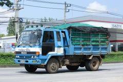 Lastbil av avdelningen för Thailand landutveckling Royaltyfria Foton