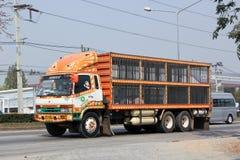 Lastbil av Betagro Företag Arkivfoto