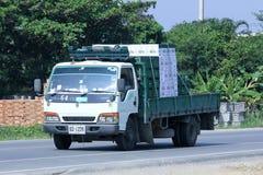 Lastbil av den thailändska drycken Royaltyfri Foto