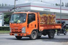 Lastbil av provinsiell eletricitymyndighet av Thailands Fotografering för Bildbyråer