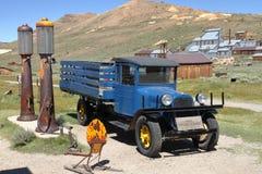 Lastbil - Bodie Ghost stad - Kalifornien Arkivbilder