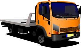 Lastbil eller lastbil Arkivfoton