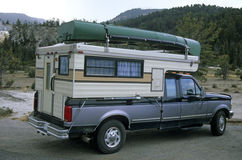 lastbil för 2 campare Royaltyfri Foto