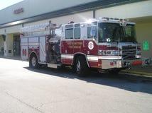 Lastbil för brandkämpar Arkivfoton