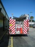 Lastbil för brandkämpar Royaltyfri Foto