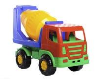 lastbil för cementblandare Arkivfoto