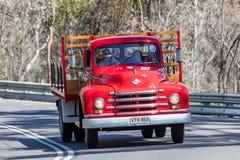 Lastbil 1952 för diamant T 520 TrayTop Royaltyfri Fotografi