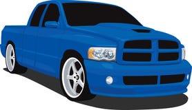 lastbil för finthackaRAM upp royaltyfri illustrationer