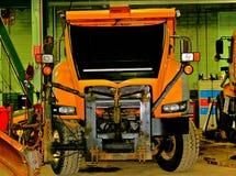 Lastbil för främre sikt royaltyfria foton