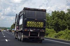 Lastbil för industriell avfalls Royaltyfria Foton