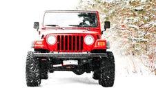 lastbil för jeep 4x4 Arkivbilder