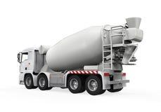Lastbil för konkret blandare stock illustrationer