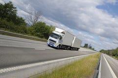 lastbil för landstransporthuvudväg fotografering för bildbyråer
