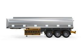 Lastbil för olje- behållare  Arkivbilder