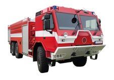 Lastbil för röd brand Royaltyfri Bild