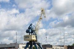 lastbil för sändnings för krangodaport Fotografering för Bildbyråer