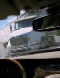lastbil för släp för traktor för krasch för felanmälansbilclose Royaltyfria Foton