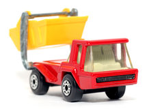 lastbil för toy för överhopp för kartbokbil gammal Fotografering för Bildbyråer