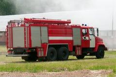 Lastbil för tung brand Royaltyfri Fotografi
