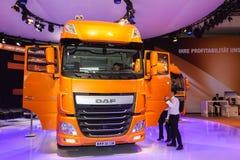 Lastbil för DAF XF S10 Euro6 Arkivfoto