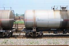 lastbil för drev för oljebehållare Royaltyfri Bild