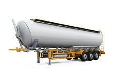Lastbil för olje- behållare Royaltyfria Foton